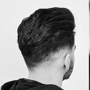 Men's Haircut at Hollywood Barber